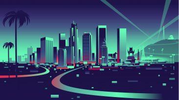 Los Angeles A Car City