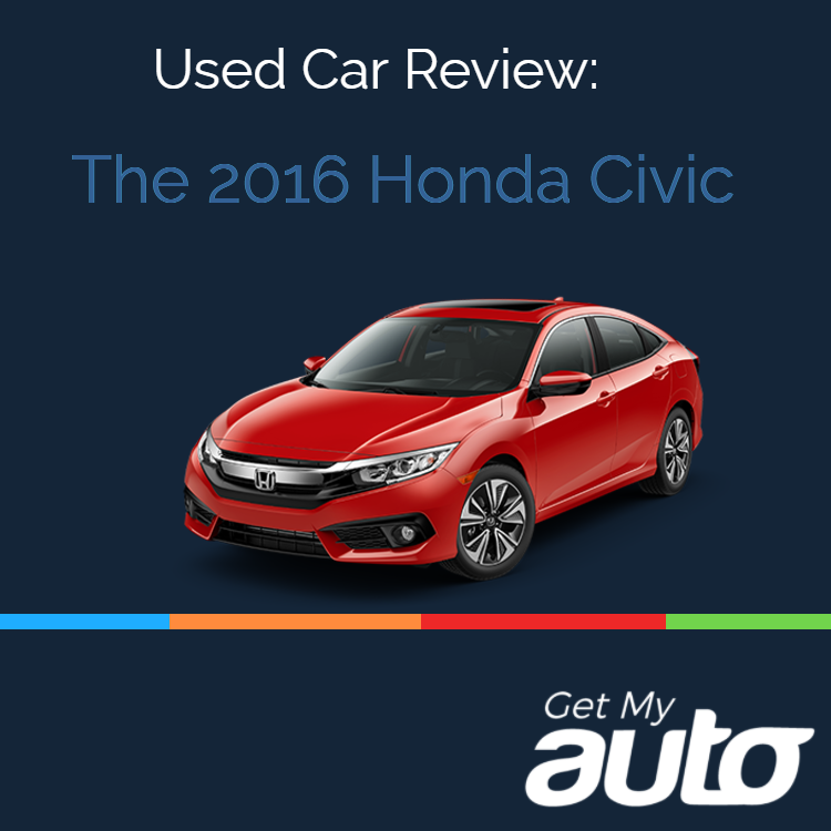 Used Car Review The 2016 Honda Civic Get My Auto