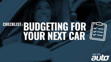 Checklist Budgeting for Your Next Car GetMyAuto