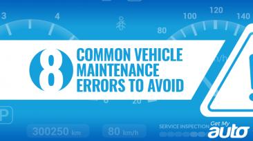 8 Common Vehicle Maintenance Errors to Avoid-GetMyAuto