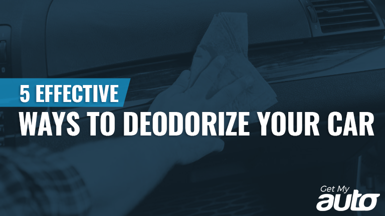 5 Effective Ways to Deodorize Your Car-GetMyAuto