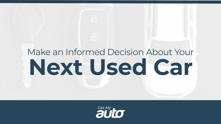 Make an Informed Decision About Your Next Used Car GetMyAuto