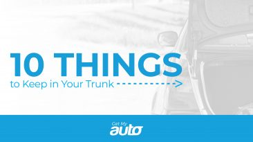 10 Things to Keep in Your Trunk GetMyAuto
