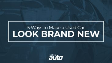 5 Ways to Make a Used Car Look Brand New GetMyAuto
