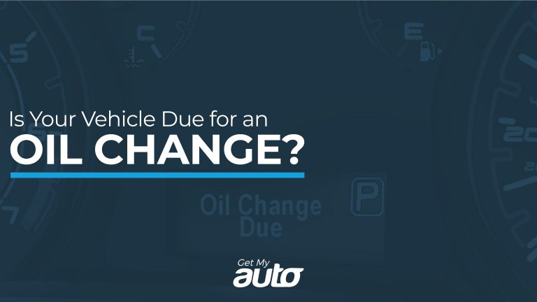 Is Your Vehicle Due for an Oil Change GetMyAuto