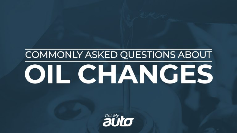 Commonly Asked Questions About Oil Changes GetMyAuto